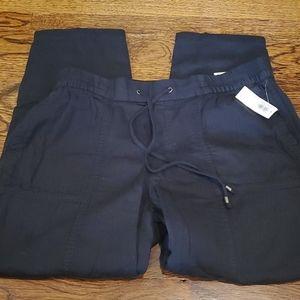 Old Navy Womens Cotton Capri Pants